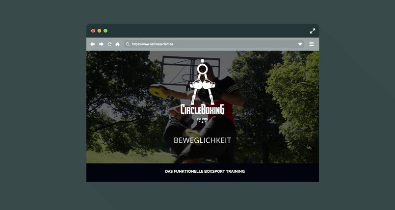 Boxen Webseite München