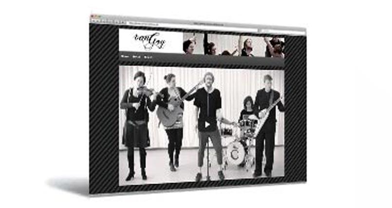 Musikerwebseite München