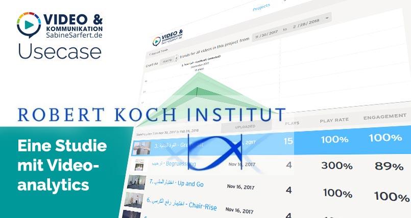 Usecase: Institut nutzt Videoanalytics