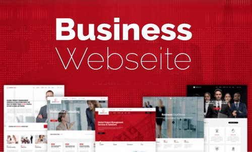Unternehmer Webseite