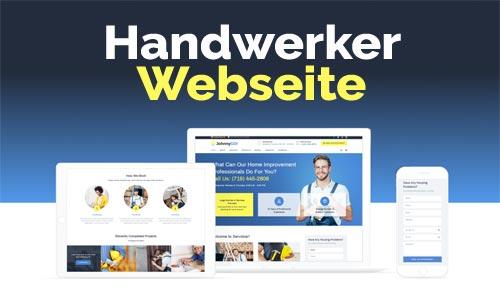 Handwerker Webseite